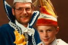 1987 Prins Paul Ubbink en Jeugdprins Remon Berends